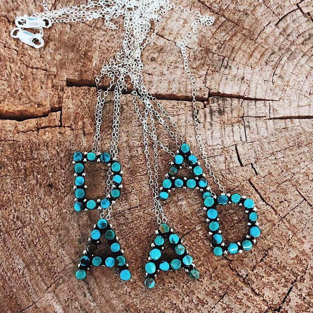 *PORTER* Necklace *MIX Turquoise