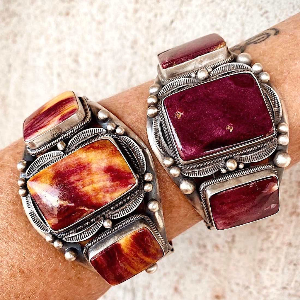 RTS ♢ Purple SPINY OYSTER cuff