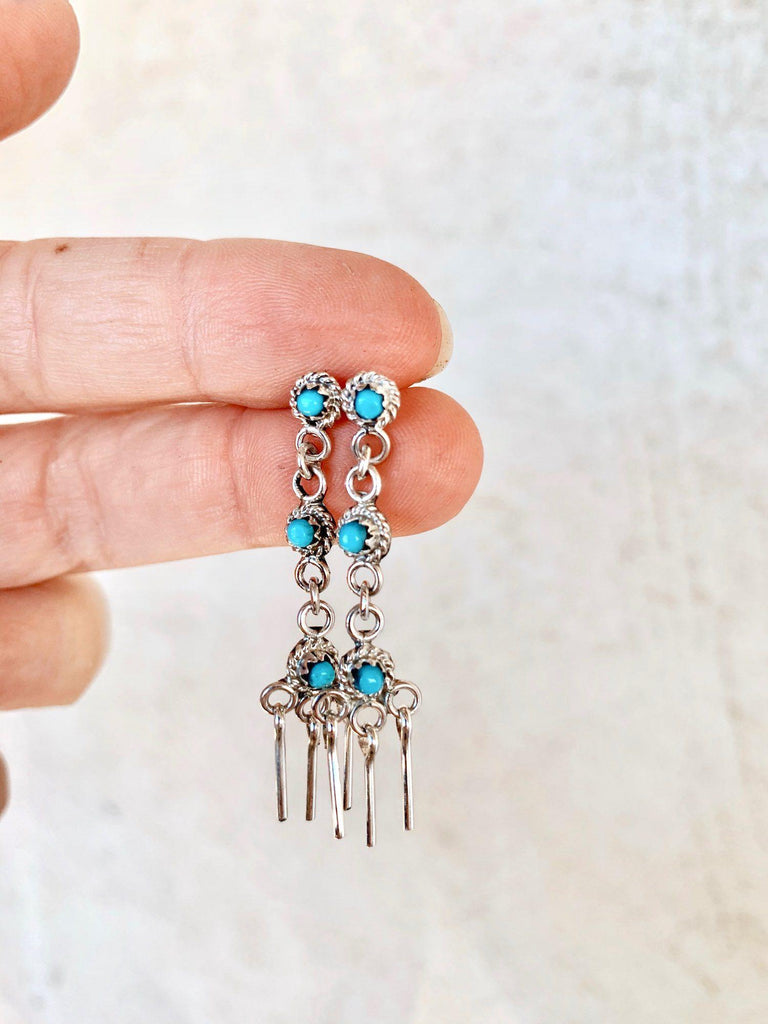 *RTS Sweet Turquoise Dangle Earrings