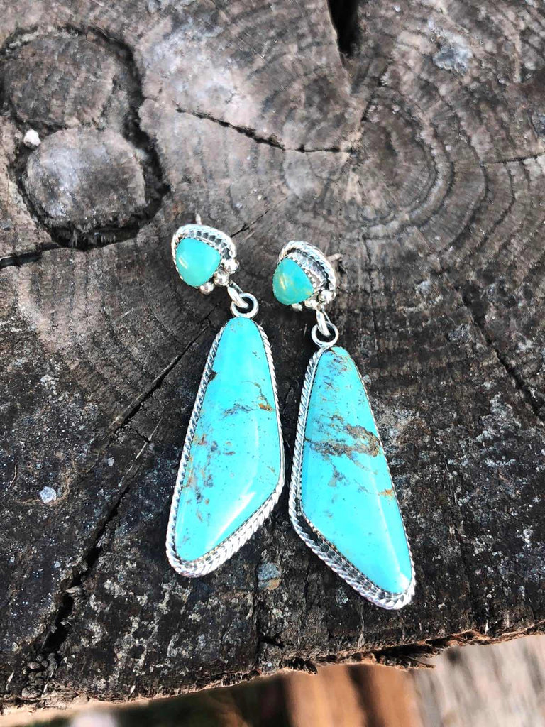 *OH-MY* Turquoise Earrings