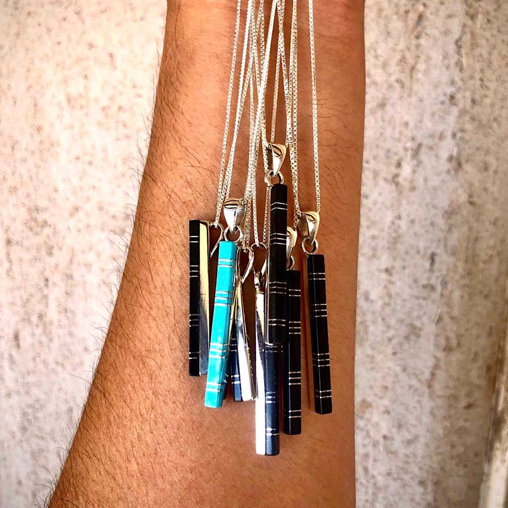 RTS ♢ ZUNI Vertical Bar Necklace