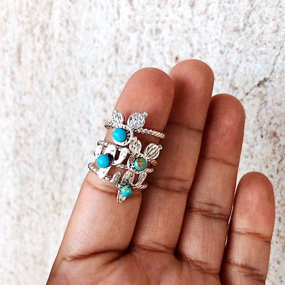 *LIL PRICK Cactus Stacker Ring
