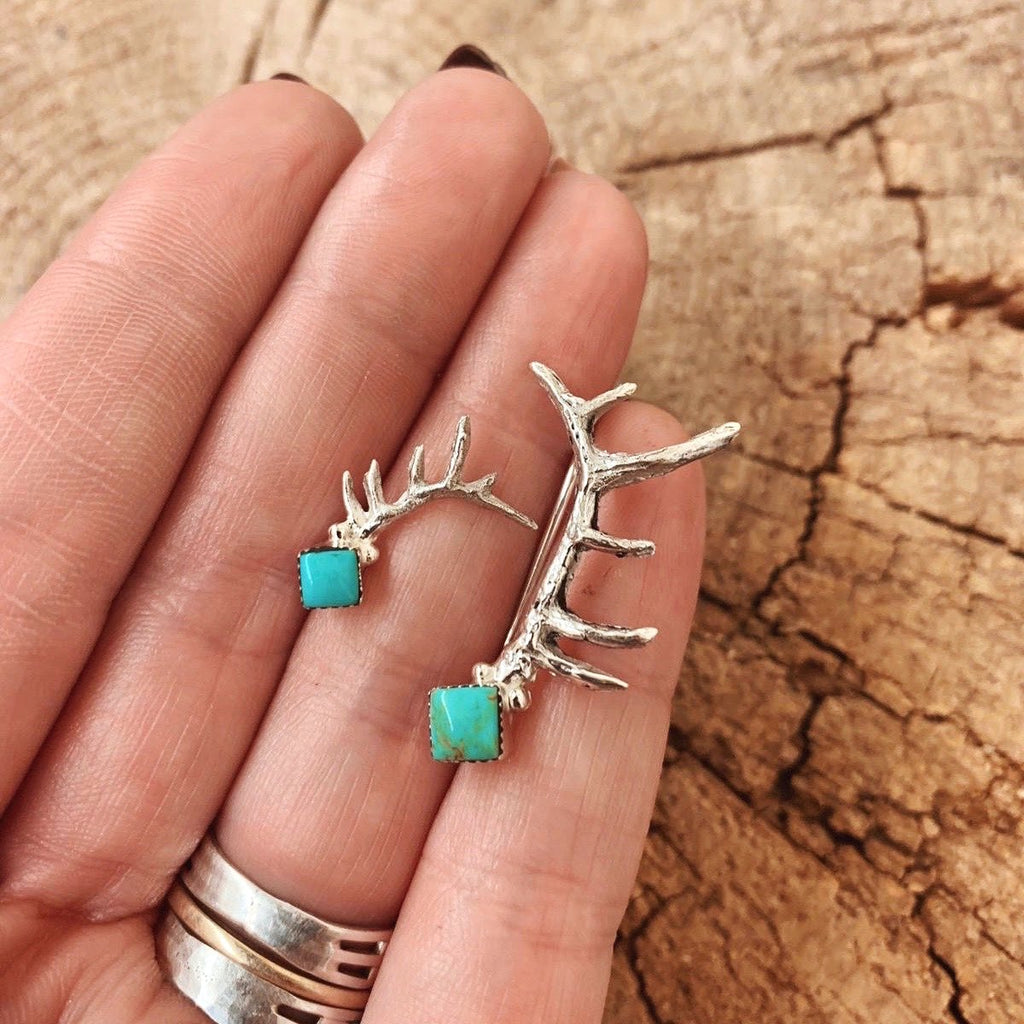 *MISMATCHED Antler Ear Crawler/Earrings