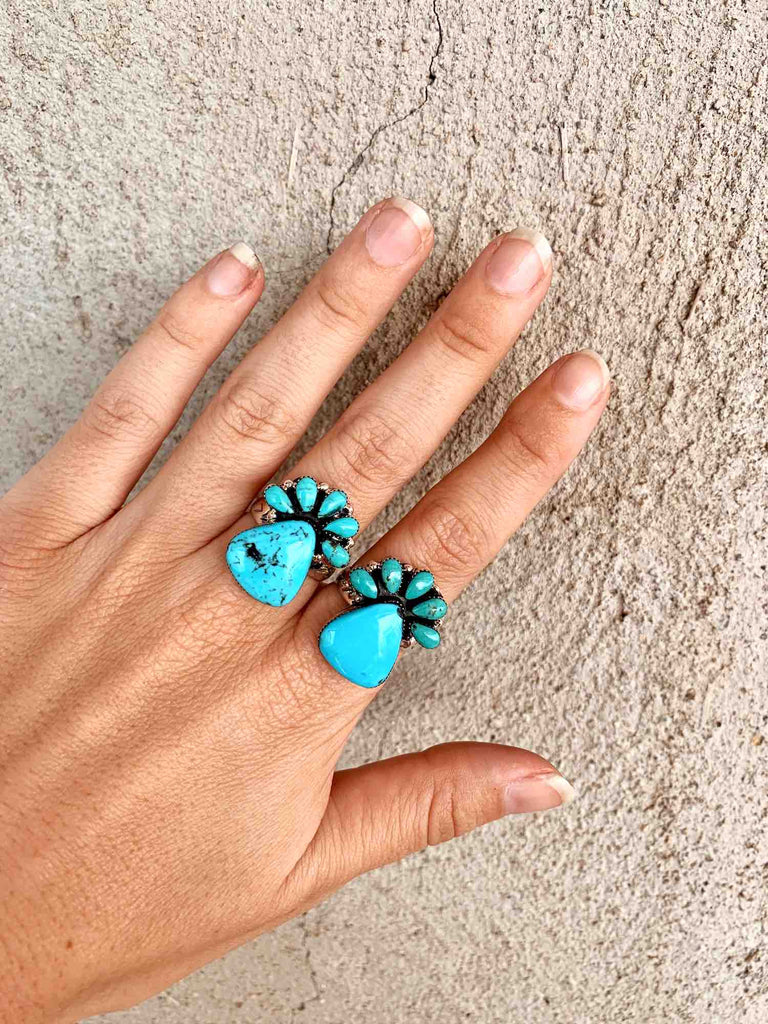 *Turquoise Pineapple Ring