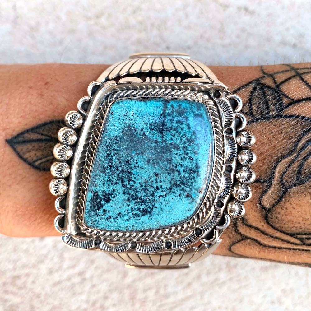 *High Grade NEVADA Turquoise Cuff C