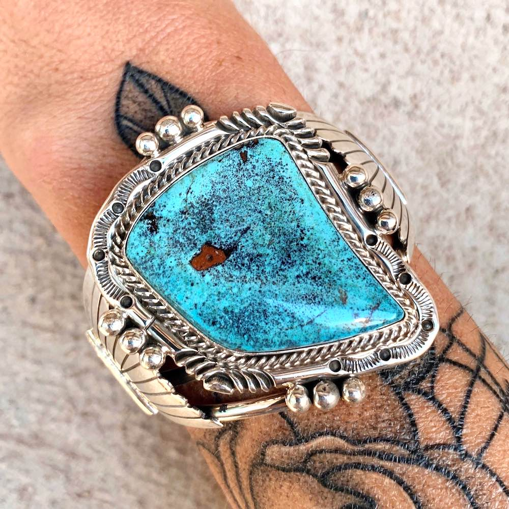 *High Grade NEVADA Turquoise Cuff B