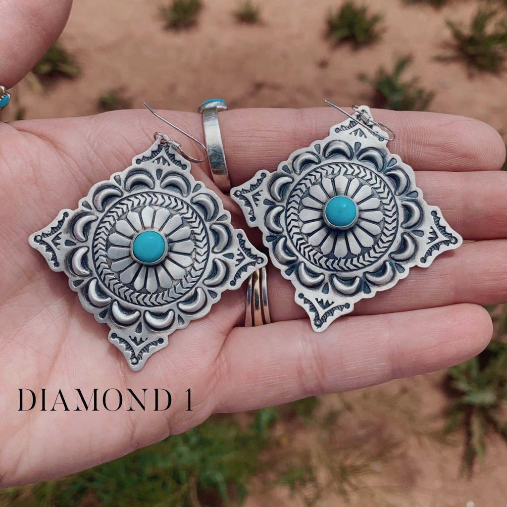 RTS ♢ MAIA Concho Earrings