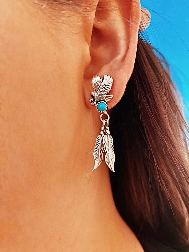 RTS ♢ EAGLE Dangle Studs