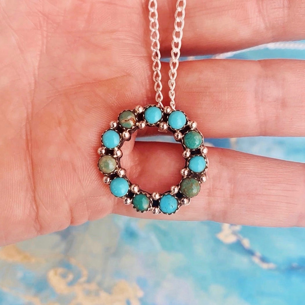 *Turquoise Eternity necklace
