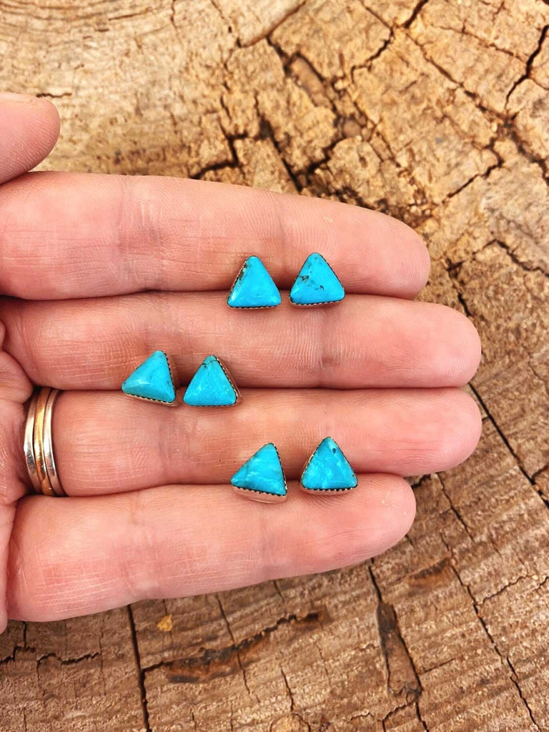 RTS ♢ TRIANGLE Stud Earrings