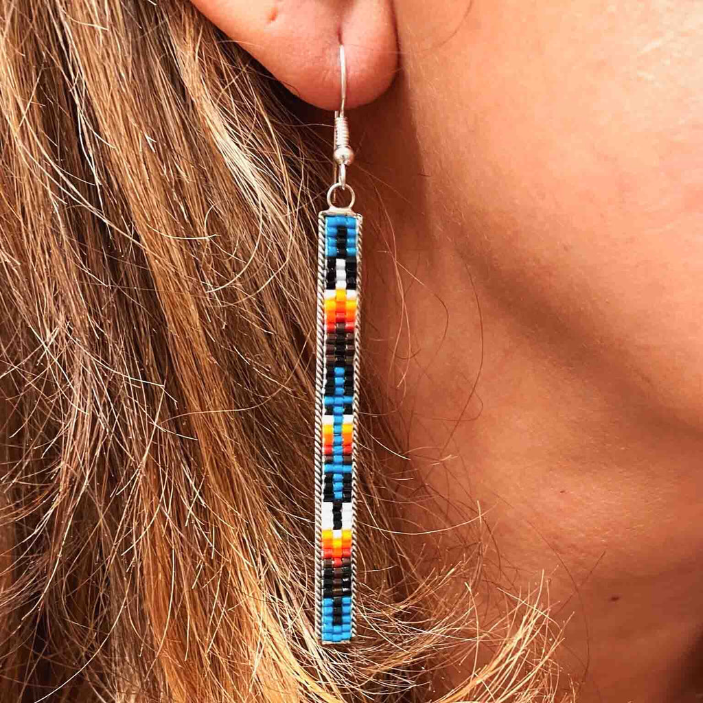 RTS ♢ BEADED Long EARRINGS