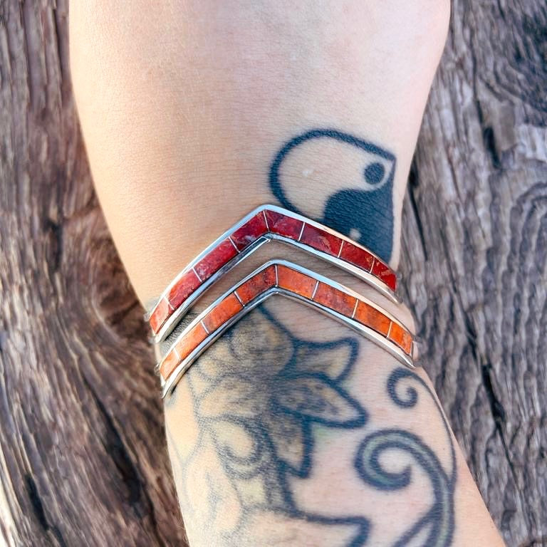 RTS ♢ NEW Chevron Cuff- SPINY OYSTER