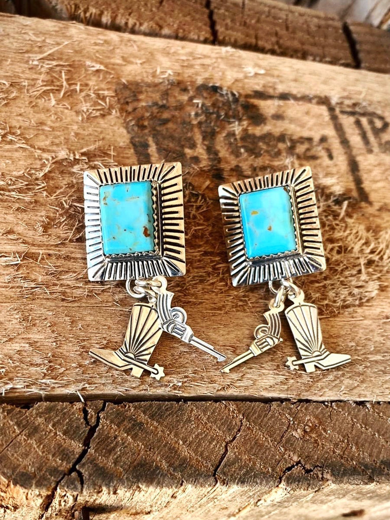 RTS ♢ Turquoise BANG BANG EARRINGS
