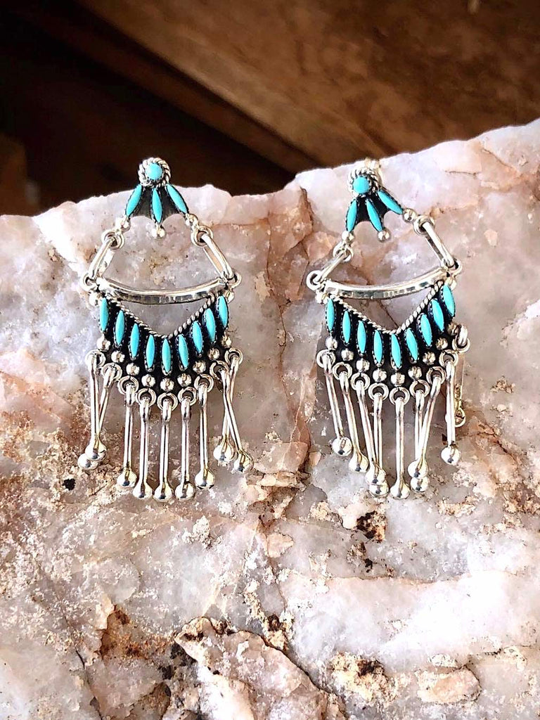RTS ♢ RARE Zuni Chandelier Earrings