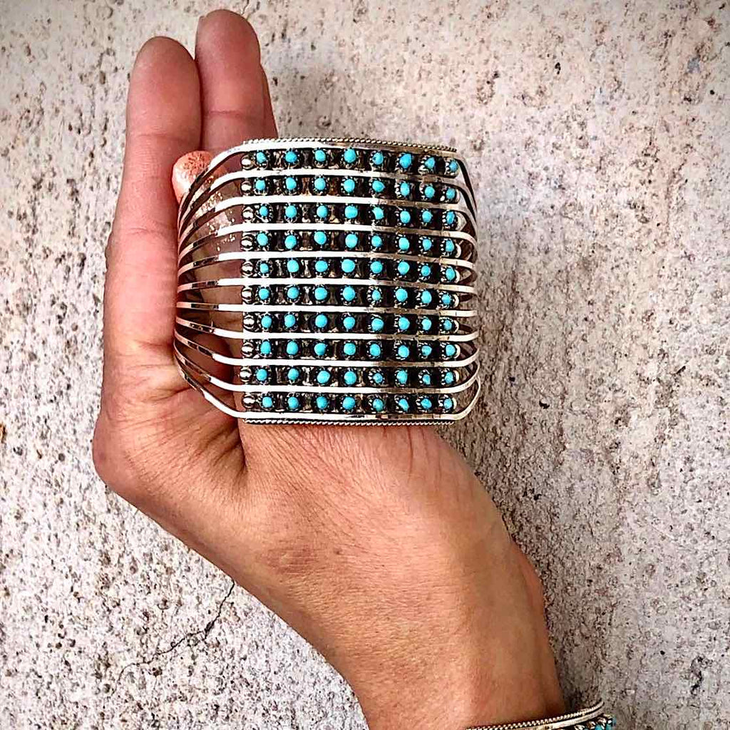 RTS ♢ TEN UP CUFF- Turquoise