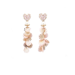 Hearty Bling Earrings (Limited) - ADA PAT DESIGN