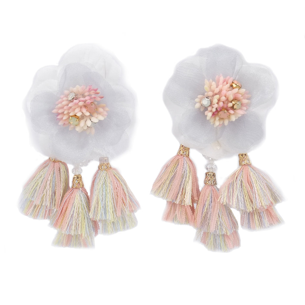 Florally Flur Candy Earrings - ADA PAT DESIGN