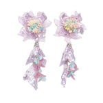 Starry Ray Purple Earrings - ADA PAT DESIGN