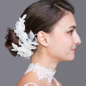 Vittoria Feathery Hair Comb - ADA PAT DESIGN