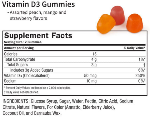 SHIFAA NUTRITION Vitamin D3 Gummies