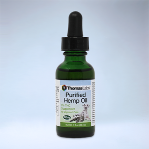 Purified Hemp Oil for Dog and Cats