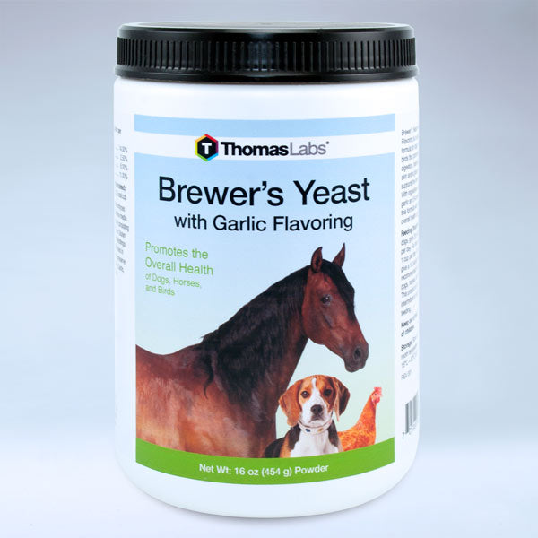 Brewer's Yeast With Garlic Flavoring - 16 oz