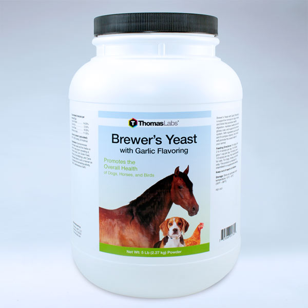 Brewer's Yeast With Garlic Flavoring - 5 lb