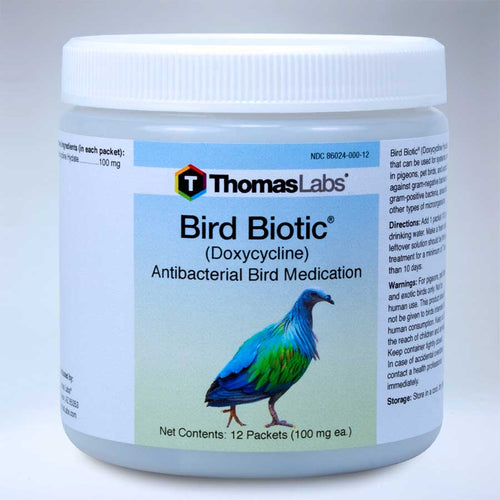 Bird Biotic - Doxycycline 100 mg Powder Packets