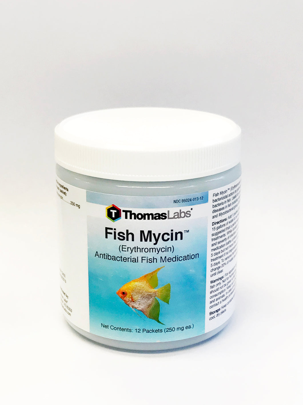 Fish Mycin - Erythromycin 250 mg Powder Packets