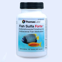 Load image into Gallery viewer, Fish Sulfa Forte - Sulfamethoxazole 800 mg, Trimethoprim 160 mg Tablets