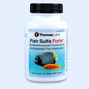 Fish Sulfa Forte - Sulfamethoxazole 800 mg, Trimethoprim 160 mg Tablets