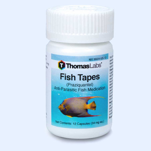 Fish Tapes - Praziquantel 34 mg Capsules