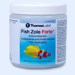 Fish Zole Forte - Metronidazole 500 mg Powder Packets