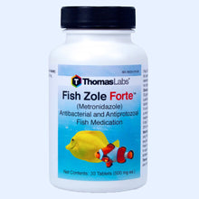 Load image into Gallery viewer, Fish Zole Forte - Metronidazole 500 mg Tablets