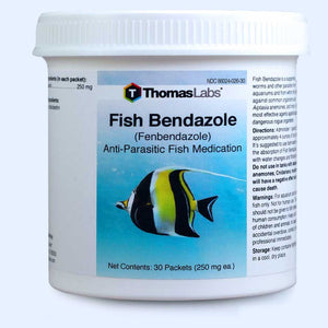Fish Bendazole  Fenbendazole 250 mg Powder Packets