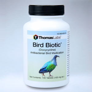 Bird Biotic - Doxycycline 100 mg Tablets