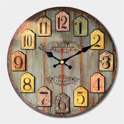 Decorative Large Wall Clock antique Vintage design