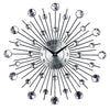 Luxury Large decorative Modern wall clocks Metal Art & Diamond Design