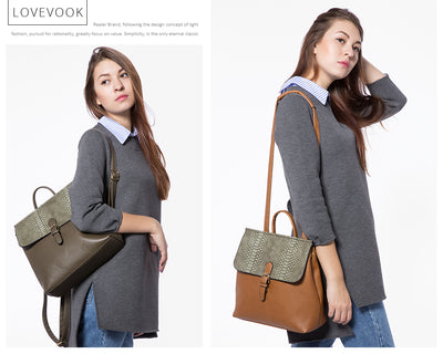 Backpacks for women, Teens, Leather Bags
