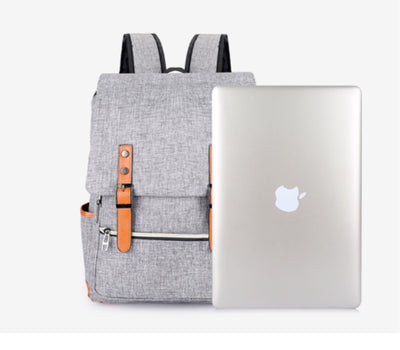 Canvas Laptop Backpacks For Teen