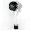 Gear Mechanism Pendulum Large wall clock
