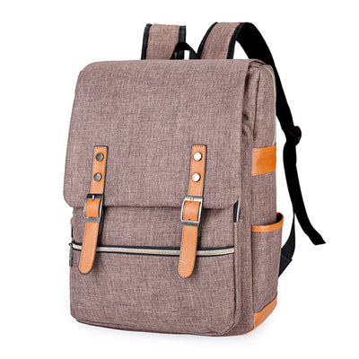 brown backpack for school