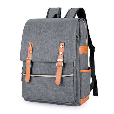 dark grey backpack for school
