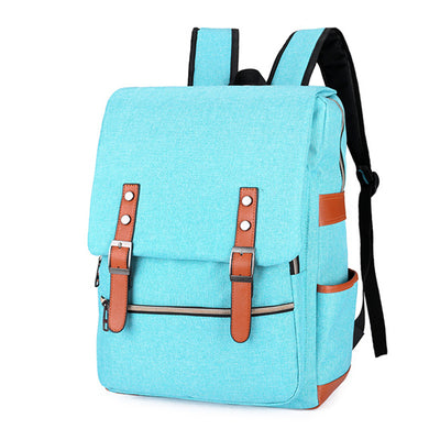 sky blue backpack for school