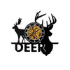 Unique Decorative Wall clocks Record design Deer Shape