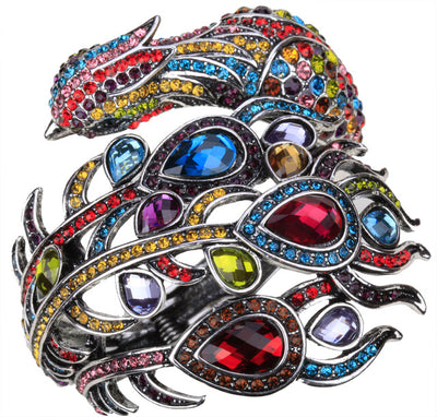 Peacock Bracelet  Fashion Jewelry multi Color