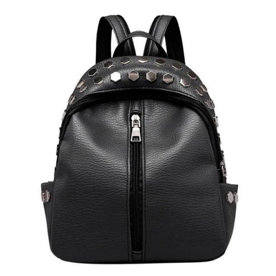 Black Backpacks for women, Teens, Leather Bags