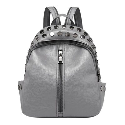 Grey Backpacks for women, Teens, Leather Bags