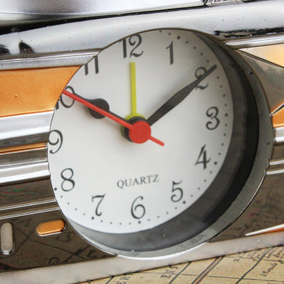 Yacht Decorating Alarm Table Clock Vintage