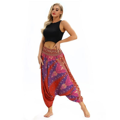 Bohemian Harem Pants, Yoga Pants for Women